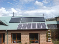 Photovoltaics at work in Armidale - NSW