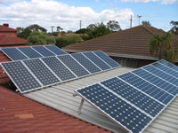 Photovoltaics at work in Wyndhamvale - VIC