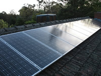 Photovoltaics at work in Blackburn - VIC