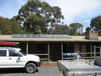 Photovoltaics at work in Emerald - VIC