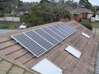 Photovoltaics at work in Mt Waverley - VIC