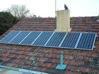 Photovoltaics at work in Doveton - VIC
