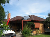 Photovoltaics at work in Boronia - VIC