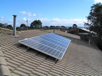 Photovoltaics at work in Mornington - VIC