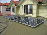 Photovoltaics at work in Carnegie - VIC