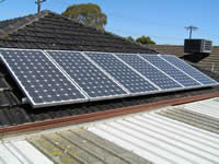 Photovoltaics at work in Altona Meadows - VIC