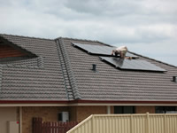 Photovoltaics at work in Success - WA