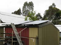 Photovoltaics at work in Stoneville - WA