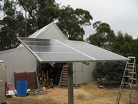 Photovoltaics at work in Scotsburn  - VIC