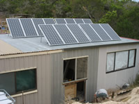 Photovoltaics at work in Nelson  - VIC