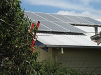 Photovoltaics at work in Northcote  - VIC