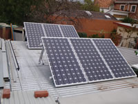 Photovoltaics at work in Port Melbourne  - VIC