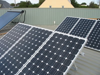 Photovoltaics at work in Cape Woolamai - VIC