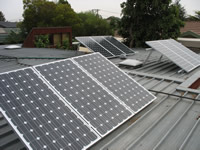Photovoltaics at work in Keilor  - VIC