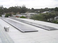 Photovoltaics at work in Dingee - VIC