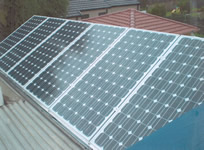 Photovoltaics at work in State Naremburn - NSW
