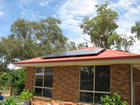 Photovoltaics at work in Euroa - VIC