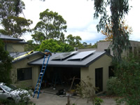 Photovoltaics at work in Mount Waverley - VIC