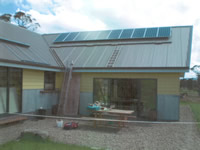 Photovoltaics at work in Moonbah - NSW