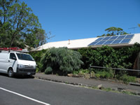 Photovoltaics at work in Yarraville  - VIC