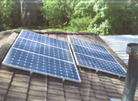 Photovoltaics at work in Glenorie - NSW