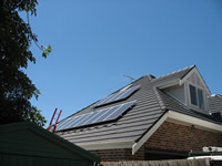 Photovoltaics at work in Balwyn - VIC