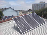 Photovoltaics at work in Kensington - VIC