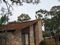 Photovoltaics at work in Eltham - VIC