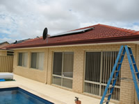 Photovoltaics at work in Iluka - WA