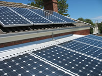 Photovoltaics at work in North Melbourne - VIC