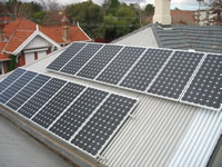 Photovoltaics at work in Hawthorn - VIC