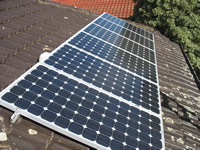 Photovoltaics at work in Hoppers Crossing - VIC
