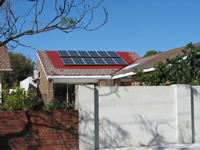 Photovoltaics at work in Caufield South  - VIC