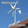 RoofMill™ HO-1.4kW (High Output) 1 Rooftop Turbine Wind/Solar, Grid-Tie Complete Kit